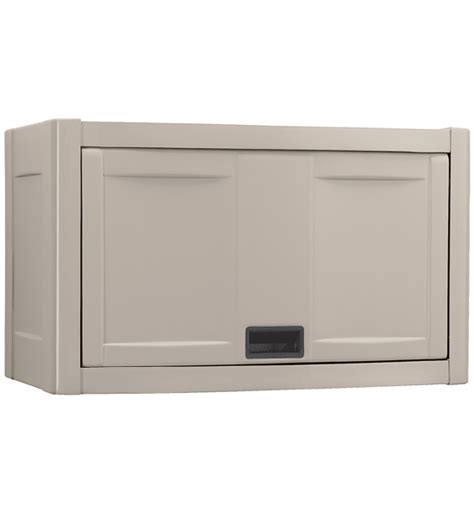 storage cabinets wall mount wall mount utility garage cabinet taupe in storage cabinets