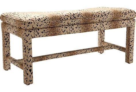 animal print upholstered bench animal print bench ii leopard products and