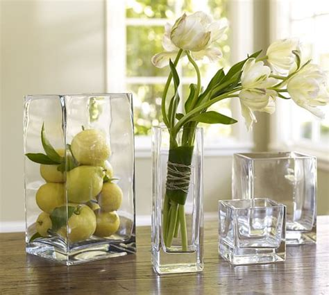 Pottery Barn Wall Vase by Square Vases Pottery Barn