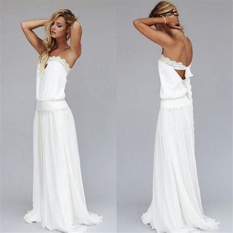 beach wedding dresses patterns simple 2017 open back beach wedding dress cheap dropped