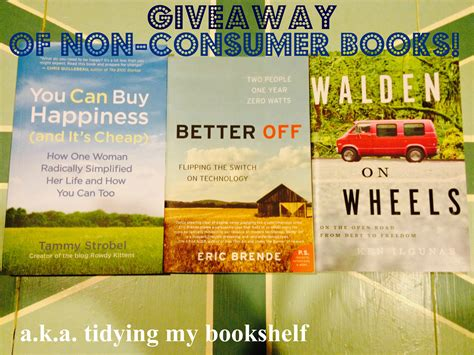 walden book loan day five of giveaway week non consumer book bundle