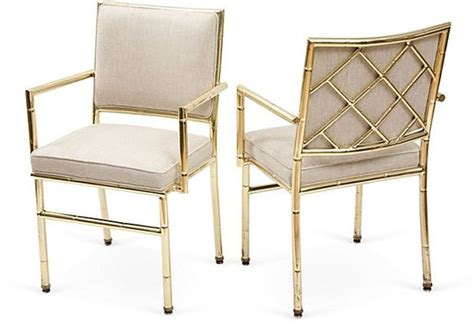 Bamboo Style Dining Chairs Bamboo Style Brass Dining Chairs Pair Chairs Products And Dining Chairs
