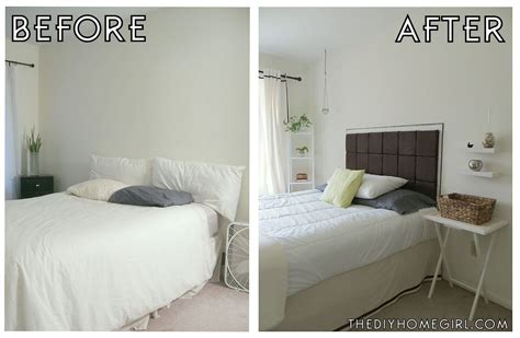 diy easy padded headboard tutorial the diy homegirl