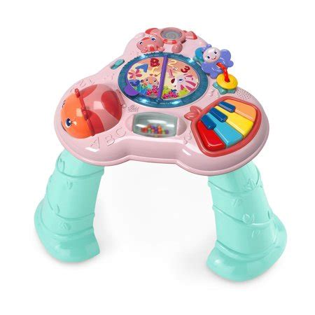 table height baby bouncer bright starts musical learning table walmart com