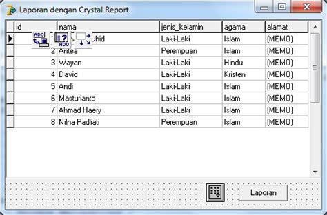 membuat laporan neraca dengan crystal report membuat dan menilkan laporan dengan crystal report di