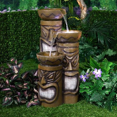 Garden And Pond Depot by 30 Quot Lighted Tiki Garden And Pond Depot