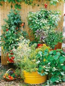 Potted Garden Ideas Bhg Container Garden Ideas Home And Garden Design