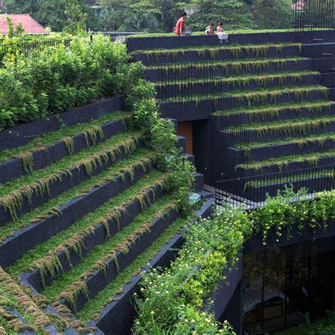 cocos roof garden 10 roof gardens from dezeen s boards that each
