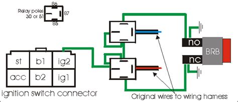 panel push on ignition switch wiring diagram get free