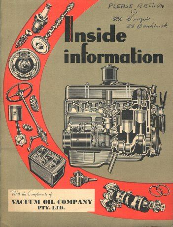 inside the vacuum books vacuum inside information about your car