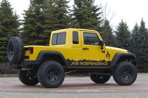 Jeep Wrangler Pickup Called Jk8 Redlinenorth