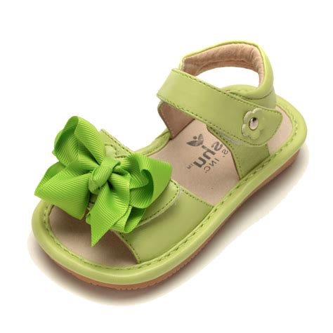 toddler sandals ready set bow sandal toddler squeaky shoes mooshu
