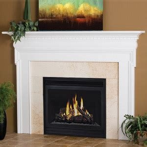 White Wood Fireplace Mantel by Newport Traditional Wood Fireplace Mantels Surrounds