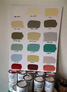 annie sloan chalk paint colors lifeeclected