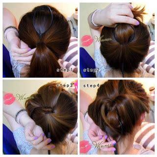 tutorial rambut gang cara menata rambut untuk pesta foto cara menata rambut