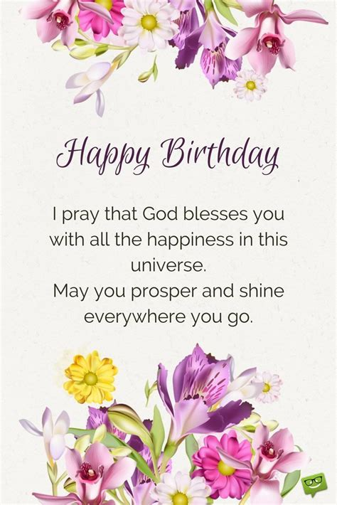Happy Birthday Blessing Wishes Blessings From The Heart Birthday Prayers As Warm Wishes
