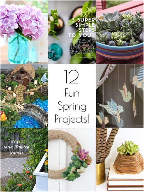 spring diy projects so creative 12 festive diy spring projects