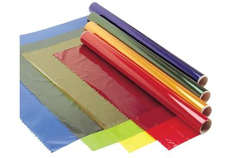 colored cellophane sheets colorations 174 cellophane rolls set of 4