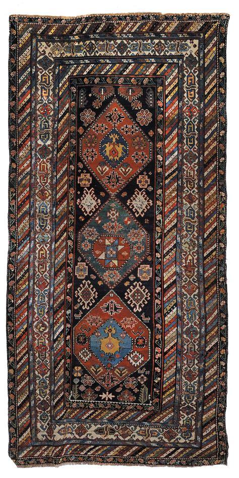 asta tappeti antichi tappeto caucasico gandje xix secolo tappeti antichi