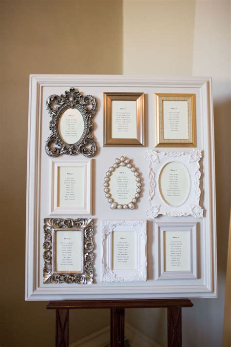 wedding seating plan photo frame unique wedding reception ideas on a budget frame on