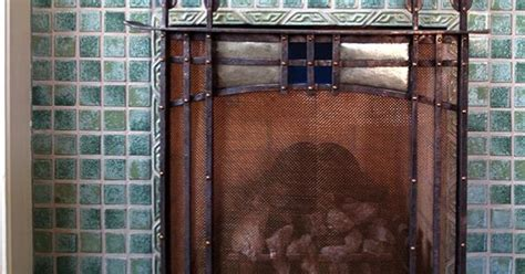 Fireplace Screens Nc by Fireplace Screen In Nc Forged Steel Hammered