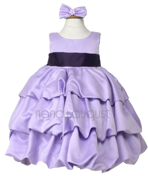 Asiyah Layer Dress Soft Purple 21 best purple baby dresses images on infant