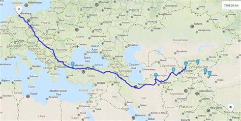 Motorrad Route Hamburg by Allein Als Frau Von Deutschland Bis Nepal Wandern Bunterwegs