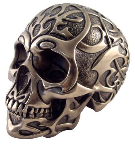 tribal tattoos with skulls breast tribal skull designs