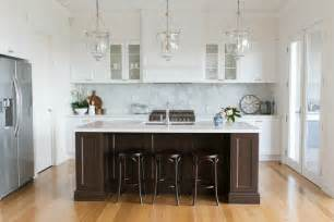 Kitchen Islands Melbourne by Room Tour A Htons Kitchen Diy Decorator