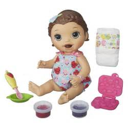 Good Christmas Gifts For Year Old Girls - baby alive baby alive super snacks snackin lily brunette