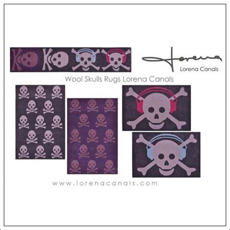 alfombras juveniles alfombras de calaveras para habitaciones juveniles