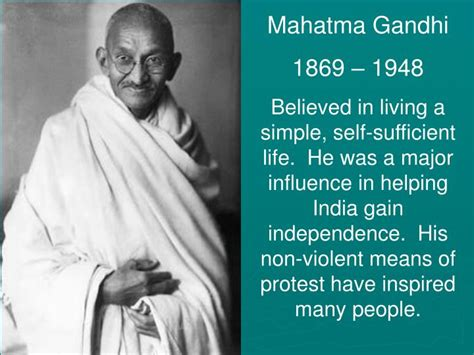 biography of mahatma gandhi ppt ppt asia australia and oceania powerpoint presentation