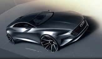Audi A9 Concept Vehicle Audi A9 Renderings Reveal New Grand Touring Coupe Audi A9