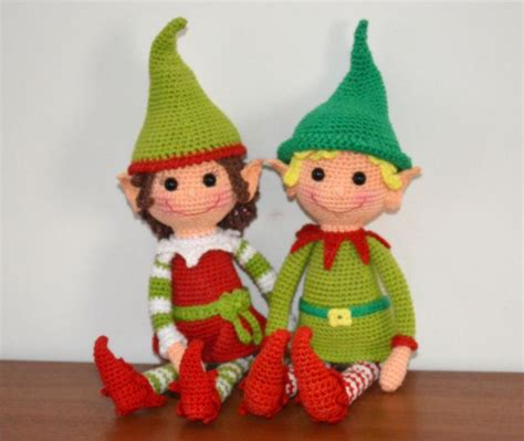 amigurumi elf pattern christmas elves amigurmibb crochet free patterns