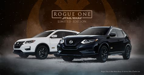 Nissan Rogue Rogue One Star Wars Limited Edition Nissan Usa