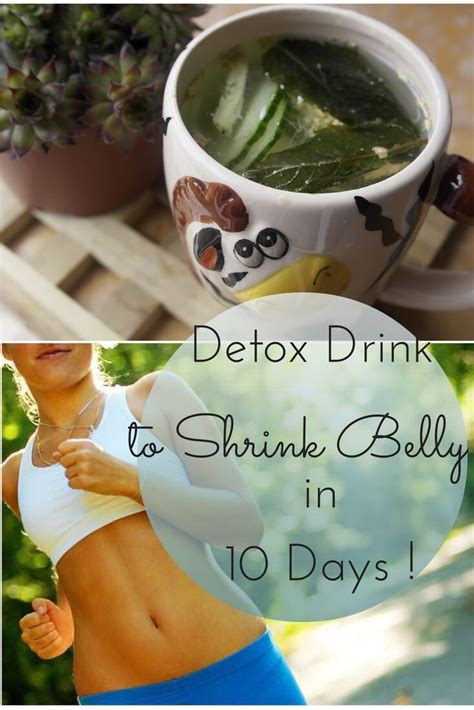 10 Day Detox Drink by Detox Drink To Shrink Belly In 10 Days Trusper