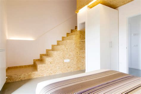 Plywood Stairs Design 05 Am Arquitectura Rural Guest House
