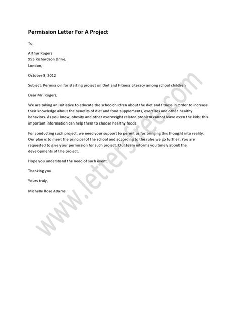 Permission Letter College 78 Images About Sle Permission Letters On Trips It Is And A Project