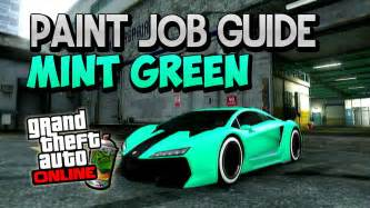 gta 5 crew colors gta 5 quot modded colour guide quot mint green quot modded