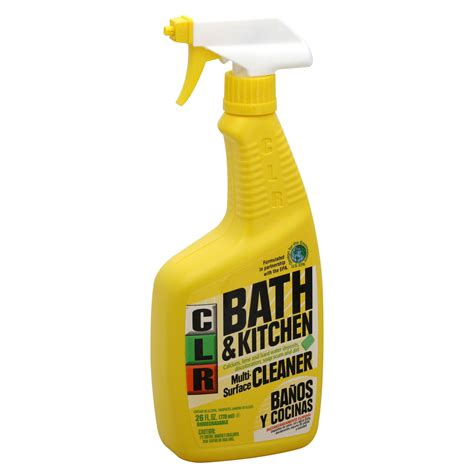 upc 78291219265 clr bath kitchen multi surface cleaner
