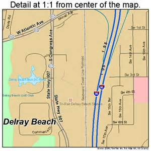 delray florida map 1217100