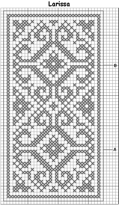 fair isle table runner blue medallion table runner free crochet pattern filet