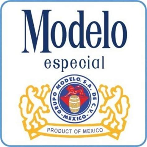 photo of modelo especial beer label