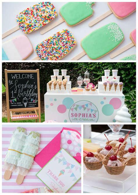 ice cream birthday party ideas ice cream birthday party