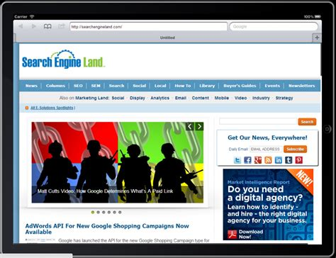 Search Engines Search Engine Land 20 Blogs To Your Digital Socks Profoundry Manchester
