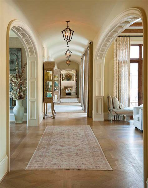 mansion interior design luxury dallas mansion interior hallway with arched door