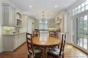 Traditional Kitchen Cabinets Pictures Pictures Of Kitchens Traditional White Antique Kitchen Cabinets Page 2