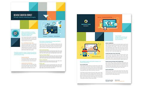 datasheet templates indesign illustrator publisher word