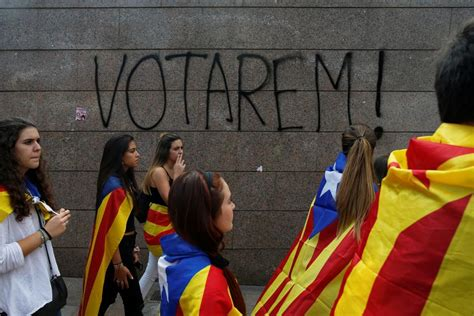barcelona referendum spain vs catalonia as tensions rise over catalan