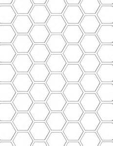 6 inch hexagon template best photos of printable hexagon pattern 8 inch hexagon